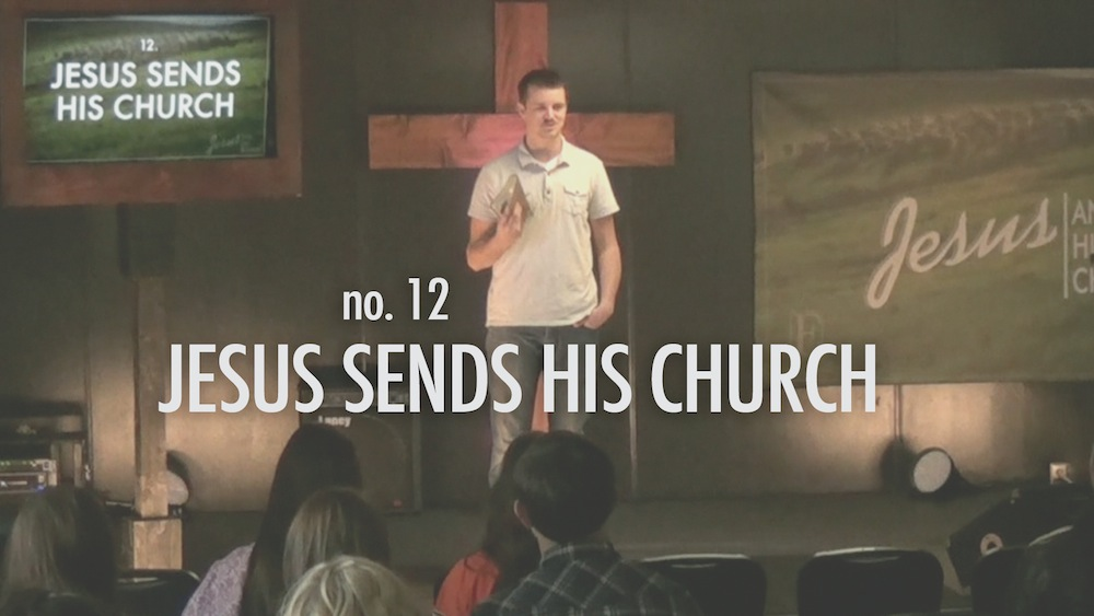 Jesus Sends His Church Thumbnail for Sermon Video