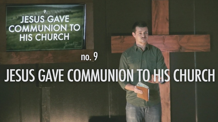 Jesus Gave Communion To His Church Thumbnail for Sermon Video