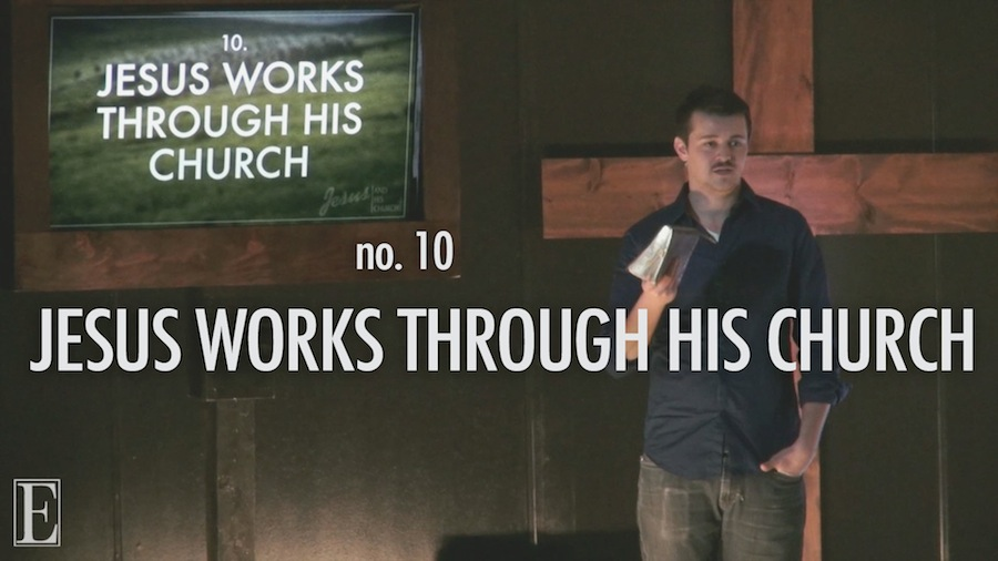 Jesus Works Through His Church Thumbnail for Sermon Video