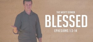 BLESSED Ephesians Sermon Slide Art