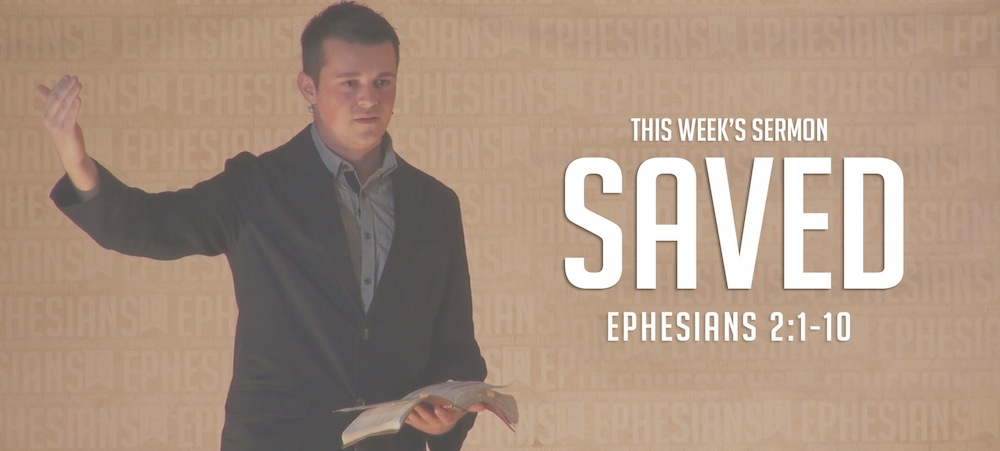 Saved Ephesians Sermon Slide Art