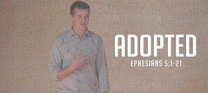 ADOPTED Ephesians Sermon Slide Art