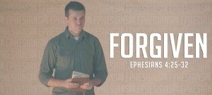 FORGIVEN Ephesians Sermon Slide Art