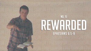 REWARDED Thumbnail for Vimeo Sermon Art