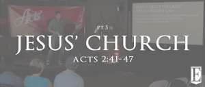 Jesus Church Sermon Page