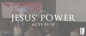 Jesus Power Sermon Page