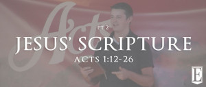 Jesus' Scripture Sermon Page Thumbnail for Homepage Sermon Art